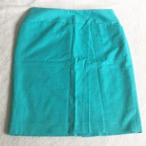 Halogen Turquoise Pencil Skirt